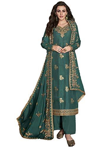 San Valentín especial exclusivo indio mujeres tradicional semi cosido Salwar traje s06