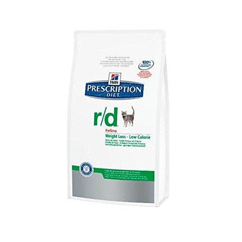 Prescription Diet r/d Feline Low Calorie mangime Secco Gusto Pollo per Problemi di Peso kg. 1,5