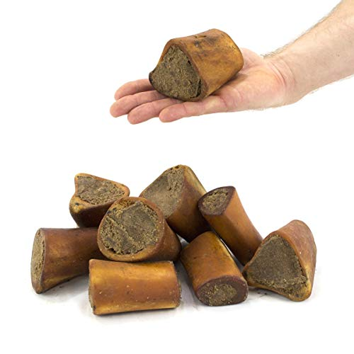Pack of 5 Meat Filled Smoked Bone 3-4 INCH Length average 250g British Beef...