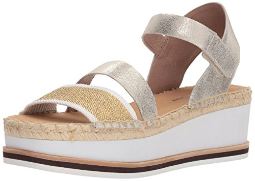 Donald J Pliner Women's ANIE Sandal, Platino, 10 Medium US