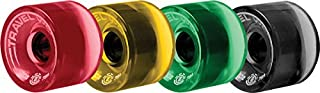 Element Spinner Boardwalk 70mm 78a Rasta Travel Well Wheels (Set Of 4)