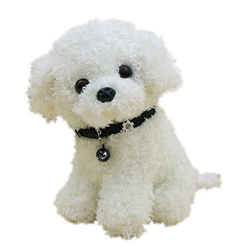 Fasclot Plush Teddy Dog Doll Cute Simulation Stuffed Animal Puppy Dog Doll Toys Gift