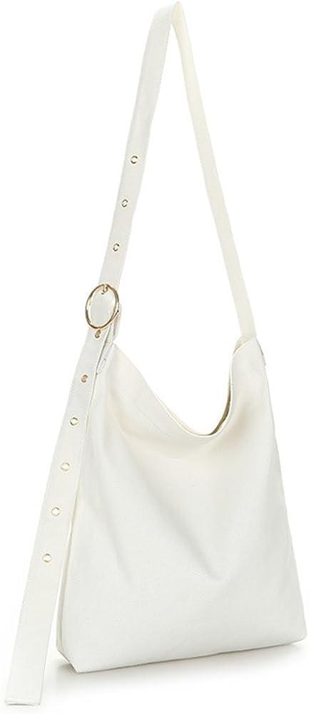 ZIIPOR Crossbody Bag Casual Canvas Hobo Bag Shouder Bag Travel Bag For Girls&Women