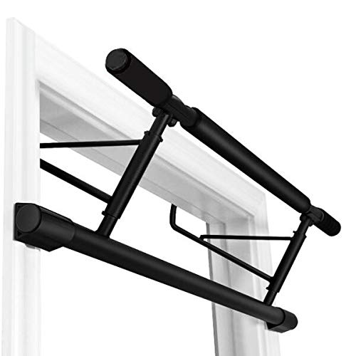 Stanz (TM) Chin Up Bar Multi-Grip Pull Up Bar Doorway Trainer for Home Gym, Holds Up to 400 lb