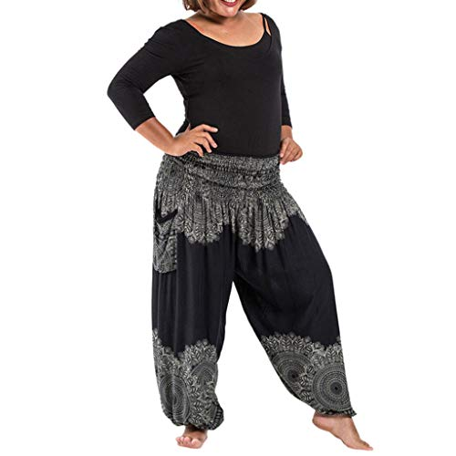 Fossen MuRope Pantalones Hippies Mujer Disfraz Deporte Baratos Moda - Leggings Deporte...
