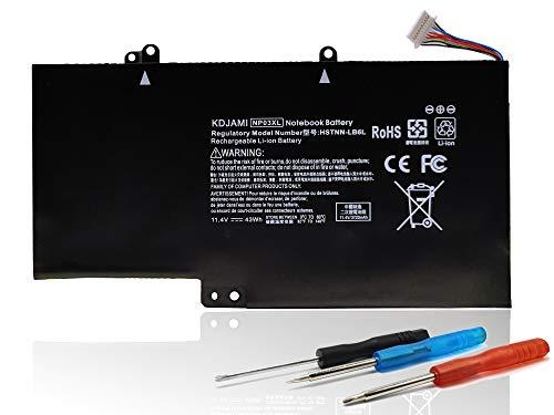 KDJAMI NP03XL - Batería para HP Envy 15 X360 Series Hp Pavilion X360 15-u000na 15-u000ns 15-u000nx 15-u001xx 15-u002nf 15-u002xx TPN-Q146 TPN-Q147 TPN-Q147 N-Q148. TPN-Q149 760944-421-11,4 V, 43 Wh.