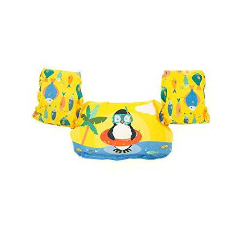 Boia Infantil Salva-Vidas Pinguim, Momis Petit, Amarelo, Único