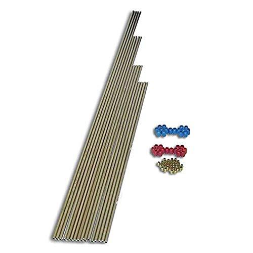 Nitrous Express 80085 8-Cyl Nitrous Tubing Kit, 1 Pack