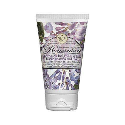 Nesti Dante Romantica Wisteria and Lilac - Face and Body Cream 150g