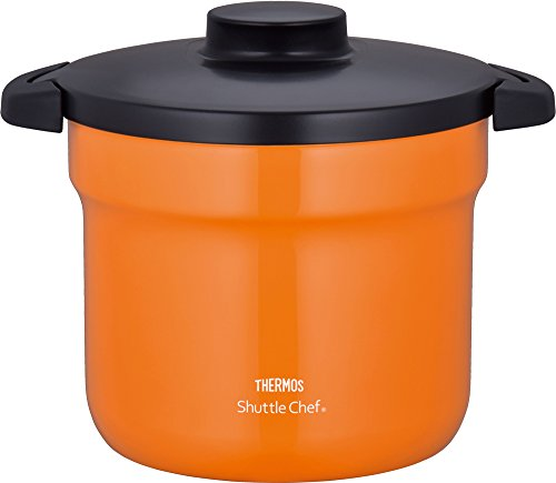 THERMOS Vacuum Warm Cooker'Shuttle Chef' KBJ-4500 OR (Orange)【Japan Domestic genuine products】