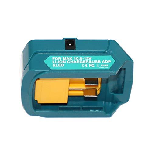 KunmniZ Portátil LED luz recargable linterna lámpara de trabajo adaptador para MT1015 ML103 DIY Herramientas Accesorios