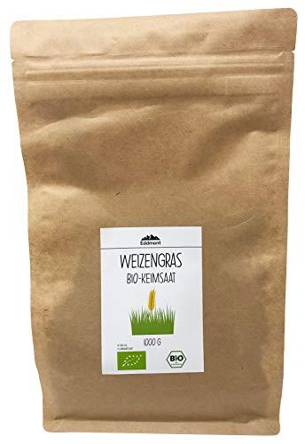 Eddmont Weizen Keimsprossen 1 kg | Weizengras Sprossen Keimlinge Microgreens Samen