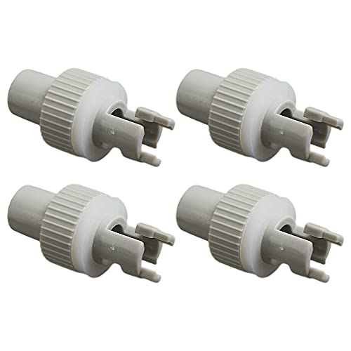 BESPORTBLE 4Pcs Kajak Adapter Düse Kajak Gas Überprüfen Adapter Einfach Aufblasen Adapter