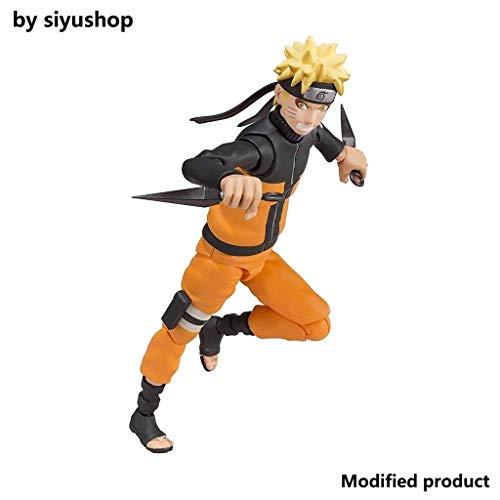 Siyushop Figura de acción de Naruto Shippuden del Modo Sabio - Equipada con Armas y Manos reemplazables - Alta 15CM