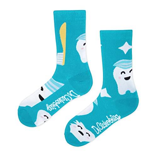 DrSoftStep Socken | 41-46 | Lustig Bequem Geschenk | Geburtstag | Arbeit Job | Dr Hothead