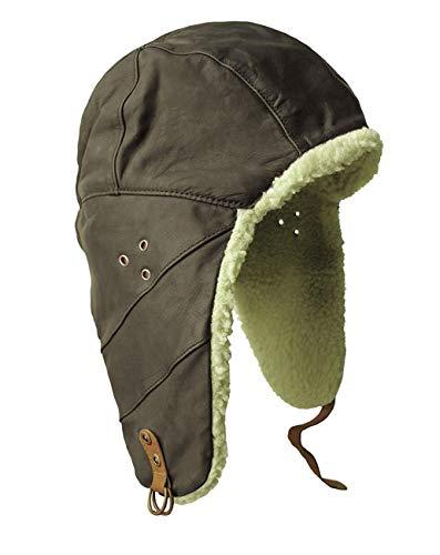 Kakadu Traders Australia -  Cappello Aviatore - Uomo Nero S