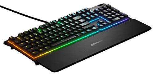 SteelSeries Apex 3 RGB Wired Gaming Keyboard