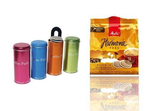 Kaffeepads Melitta Cafe HARMONIE rund für Senseo und alle gängigen Kaffeepad...