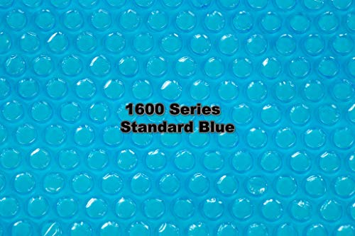 Doheny's Clear-Tek Micro-Bubble Solar Covers for In-Ground Swimming Pools | Increase Your Pools Solar Energy Absorption by Up to 25% (16' x 32', 1600 Standard Series Blue)