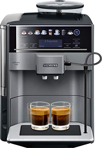 Siemens EQ.6 plus TE651209RW - Cafetera (Independiente, Má