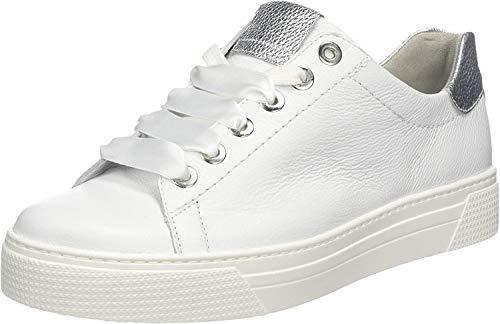 Semler Damen Alexa Sneaker, Weiß (Weiss-Silber 101), 40 EU