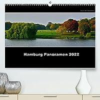Hamburg Panoramen 2022 (Premium, hochwertiger DIN A2 Wandkalender 2022, Kunstdruck in Hochglanz): Eine bildliche Hommage an die Stadt Hamburg im Panoramaformat mit hochaufgeloesten Bildern (Monatskalender, 14 Seiten )