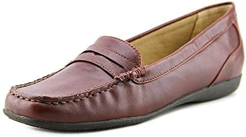 Trotters Womens Francie Closed Toe Loafers, Brown, Size 5.0