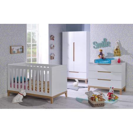 Alfred & Compagnie Chambre bébé essentielle Siki blanc