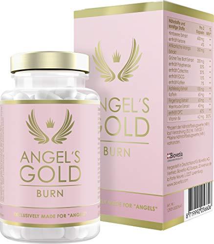 Angel\'s Gold® Burn Burner Kapseln für Frauen, schnelle exklusive Formel, natürliches Mittel, 60 Kapseln