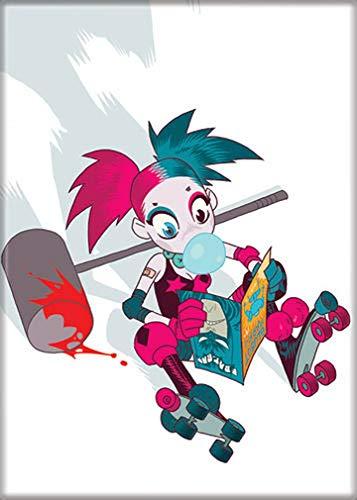 41SQhqhvAsL Harley Quinn Magnets