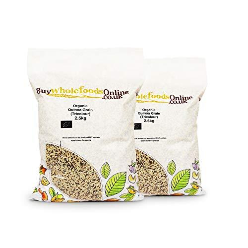 Organic Quinoa Grain (Tricolour) 5kg (Buy Whole Foods Online...