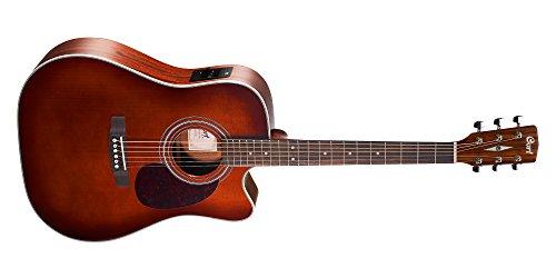 Cort A-001-0898-0 Elektrische gitaar Dreadnought Cutaway