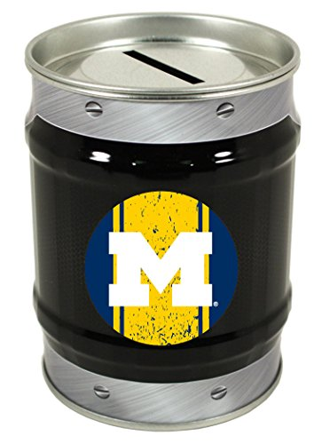 R and R Imports NCAA-Michigan Wolverines Coin Bank-University of Michigan TIN Bank-New for 2016!