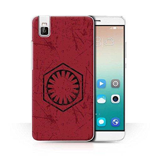 Hülle Für Huawei Honor 7i/ShotX Galaktisches Symbol Kunst Erste Bestellung Inspiriert Design Transparent Ultra Dünn Klar Hart Schutz Handyhülle Case