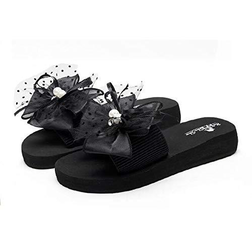 JIAYING Sandalen Sandalen Damen Sommer, Damen-Sandalen, Freizeit Flach Sandalette, for Walking/Wandern/Reisen/Hochzeit/Wasser vor Ort/Strand, in 10 Größen