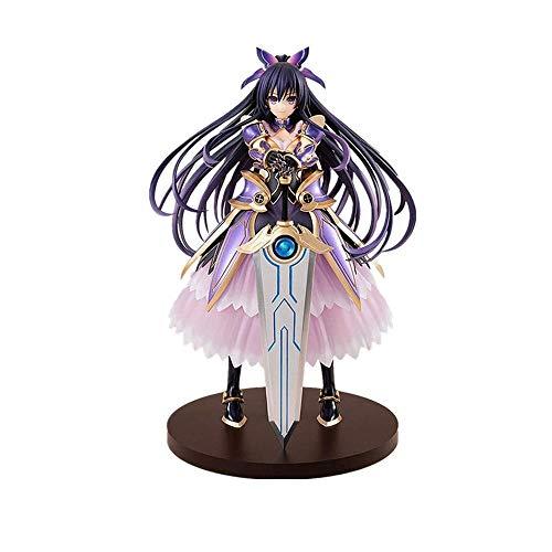 Skwenp Yatogami Tohka 26cm Anime Character Statue Dating Big Combat Series Night Knife God Ten Spirits Edition Toy Statue Handmade PVC Model The Best Gift of Birthday