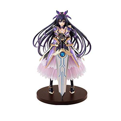 Skwenp Yatogami Tohka 26cm Anime Character Statue Dating Big Combat Series Night Knife God Ten Spirits Edition Toy Statue Handmade PVC Model The Best Gift of Birthday