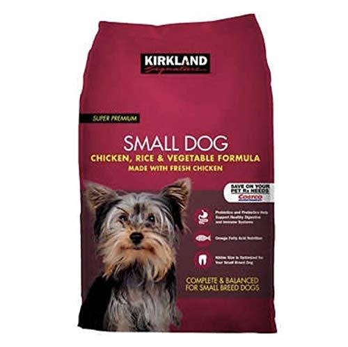 Kirkland Signature Small Breed Adult Dog Formula Chicken, Rice & Vegetables 20lb Bag