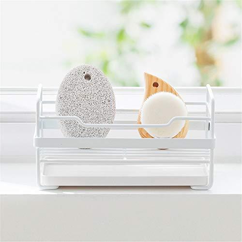 Drain Rack keuken wastafel kraan spons zeep doek afvoer rack opslag kast afvoer rack draagbare grootte kleine ruimte kan u helpen houden de keuken schoon voor keuken tafel rekken