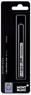 3 - Montblanc Ballpoint Pen Refills - Mystery Black - Medium Point