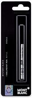 3 - Montblanc Ballpoint Pen Refills - Mystery Black - Broad Point