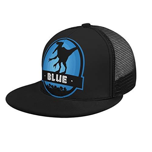 RNGIAN Velociraptor Blue Squad Serigrafiado Deportes al Aire...