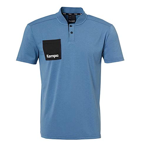 Kempa LAGANDA Polo Shirt T, Steel blau, XL