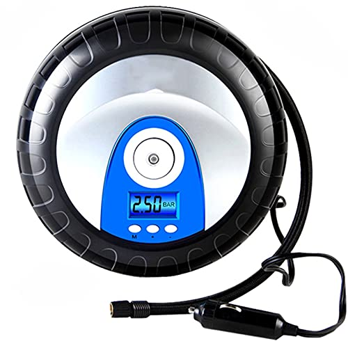 SXTYRL Aire Compresor, Pantalla Digital De Compresor De Aire Portátil, para Bicicleta De Motocicletas De Automóviles Y Otros, Negro