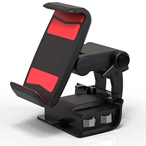 DarkWalker FO220 Clip para Teléfono con Batería para Mandos Xbox One, Batería Recargable de 1600 mAh, Soporte para Teléfono para Controladores con Bluetooth de Xbox One