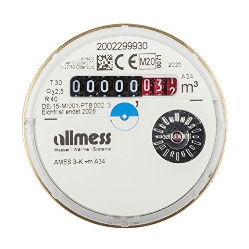 Allmess Messkapsel Kaltwasser UP 6000