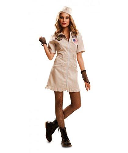 Desconocido My Other Me-202122 Disfraz Top Gun para mujer, c