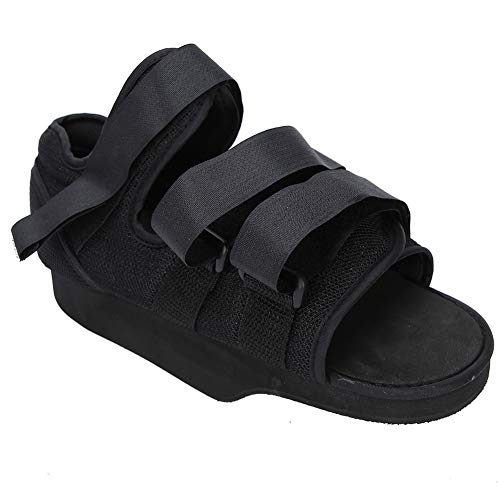 Lightweight Foot Fracture Shoe Breathable Skin‑Care for Women & Men(Open toe front pressure relief shoes, S)