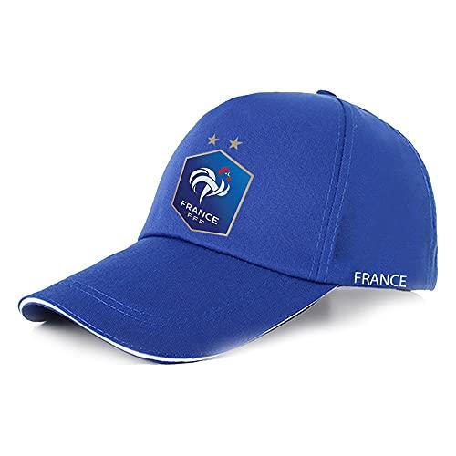 XZQ Gorra de béisbol con patrón de Bandera Francesa para 2021 Sombrero de Deportes de Ventilador de la Copa Europea Adecuado para Hombres y Mujeres (Color : B)