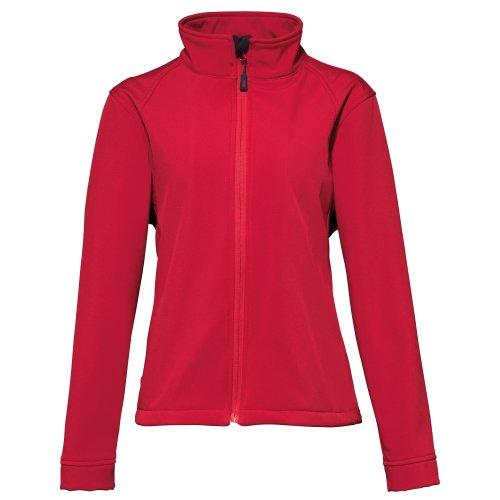 2786 - Veste softshell hydrofuge et coupe-vent - Femme (XS) (Rouge)